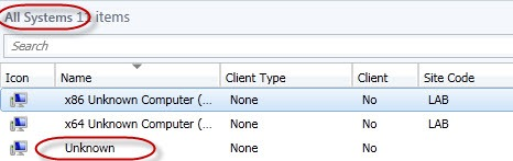 Unknown Computer Bug in Configuration Manager 2012 « The