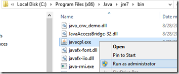Java\u2013Disable Auto Update Check « The Realm of the Verbal Processor